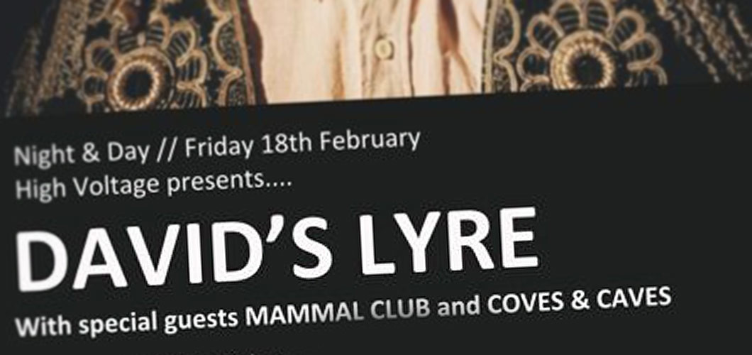 Coves & Caves supported David's Lyre @ Night & Day, Manchester, 18.02.11