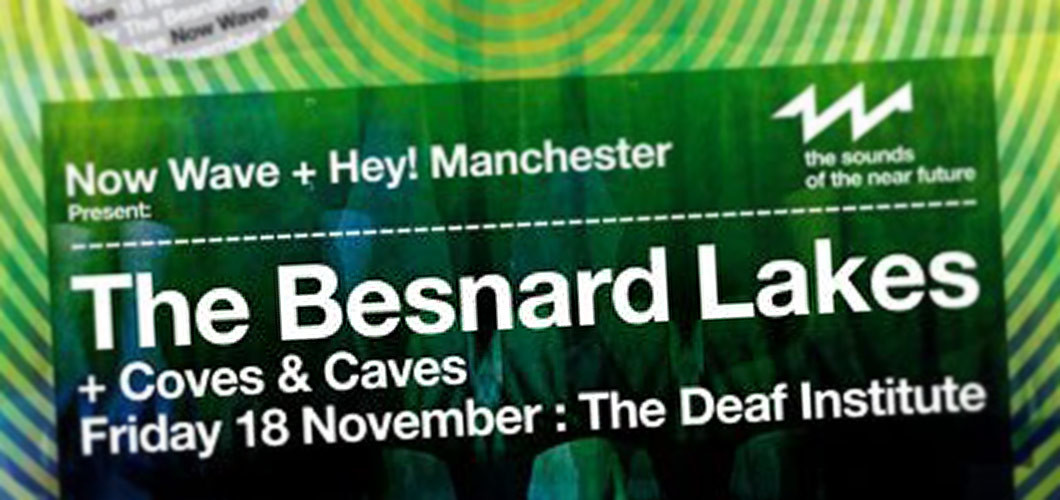 Coves & Caves supported The Besnard Lakes @ The Deaf Institute, Manchester, 18.11.11